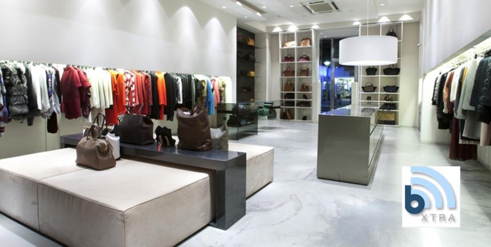 kledingzaak met logo